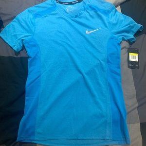 Nike running shirt.